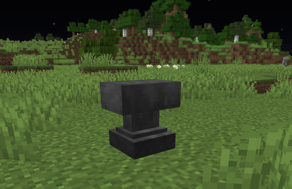 How To Craft An Anvil In Minecraft Minecraft Station
